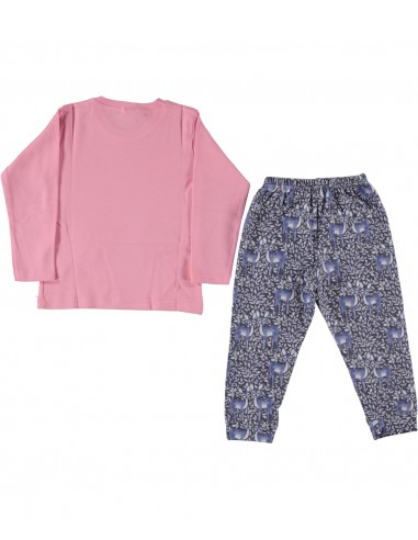 Pižama za punčko - Gazela roza (86 do...