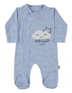 Pajac za dojenčka pižama s stopalkami