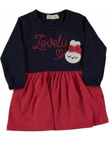Oblekica za punčko z dolgimi rokavi Lovely