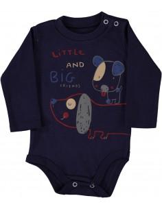 Bodi z dolgimi mala ritka za dojenčke
