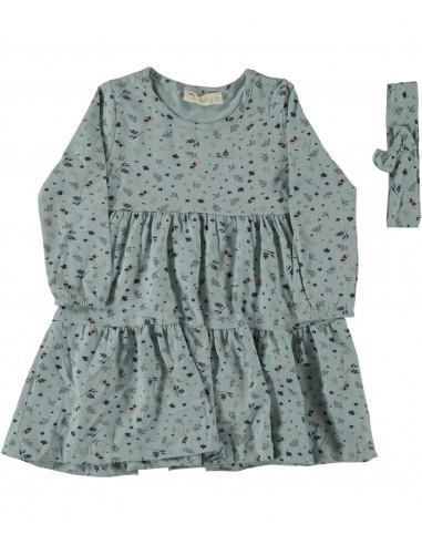 Oblekica za punčko (92-110) in trak...