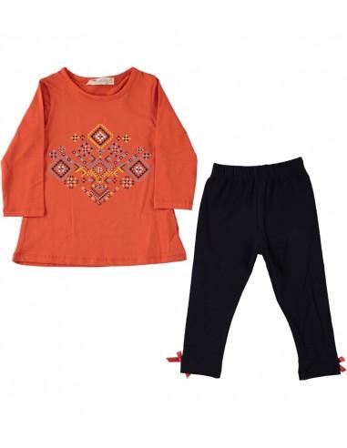 Tunika in pajkice za punčko (92-110)...