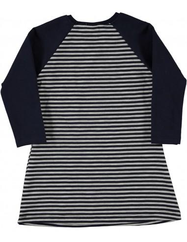 Oblekica (tunika) za punčko - muca na...