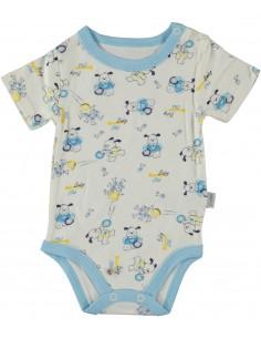 Bodi s kratkimi rokavi mala ritka za dojenčke