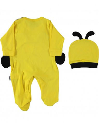 Pajac za dojenčka - čebelica