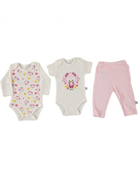 Komplet za novorojenčka ali dojenčka bodi hlačke