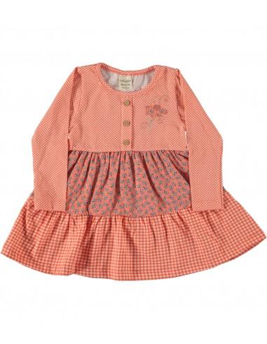 Oblekica za punčko (86-104)  - rožica...