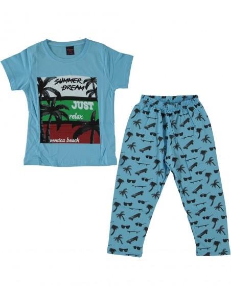 pižama bombažna mala ritka