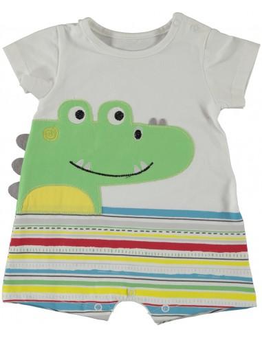 Pajac za dojenčka - krokodilček