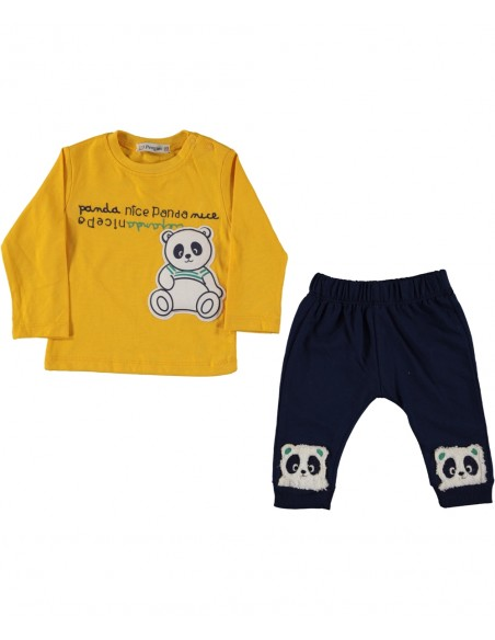 trenirka komplet za dojenčka hlače majica