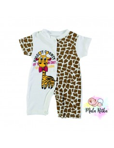 Pajac pižama romper za dojenčka jagoda mala ritka