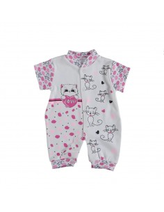 pajac pižama za dojenčke mala ritka poletna