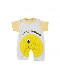 Pajac za dojenčke - Limona