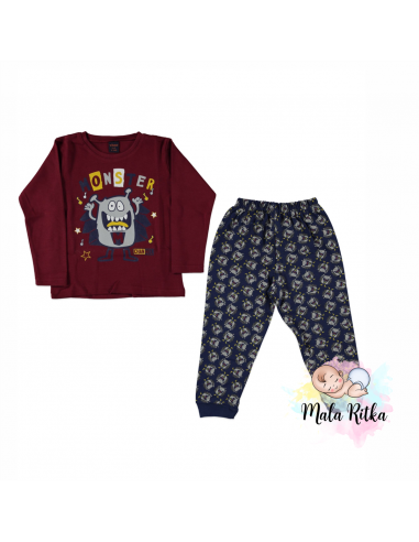 Pižama za fantke mala ritka
