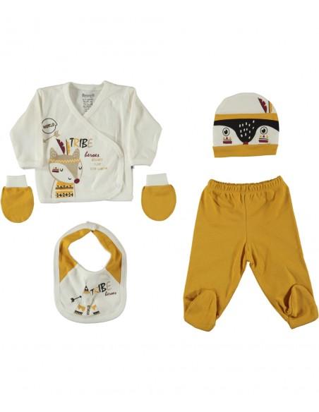 Komplet za novorojenčka, za iz porodnišnice Mala Ritka